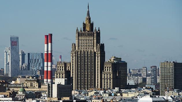 Rusia: Un ataque en Siria sin permiso de la ONU violará el derecho internacional
