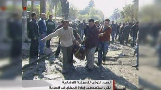 Decenas de muertos en un doble atentado contra la Inteligencia siria