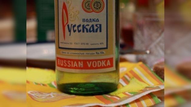 Se reanuda la producción de vodka Rússkaya