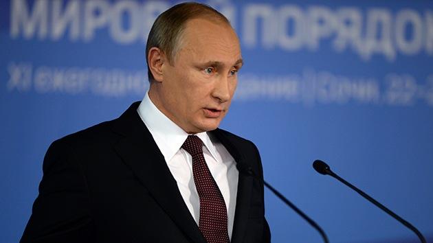 """""""Putin es el primer líder mundial que llama a las cosas por su nombre"""""""