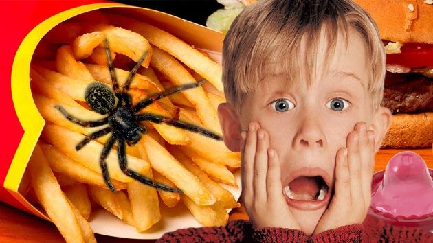 El top 10 de 'sorpresas' desagradables en la comida rápida