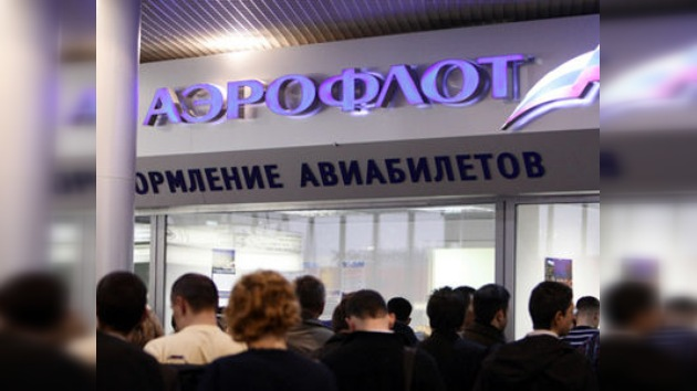 Aeroflot sigue suspendiendo vuelos