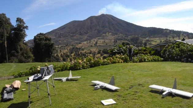 La NASA envía drones a un cráter volcánico para mejorar pronósticos meteorológicos