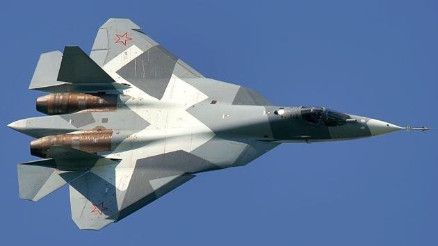 El supercaza ruso de quinta generación T-50 supera a todos sus análogos extranjeros