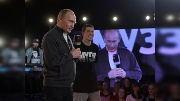 Nominan a Putin para premio hip-hop