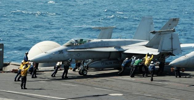 EE.UU. realiza su primer bombardeo del EI cerca de Bagdad en una nueva ofensiva