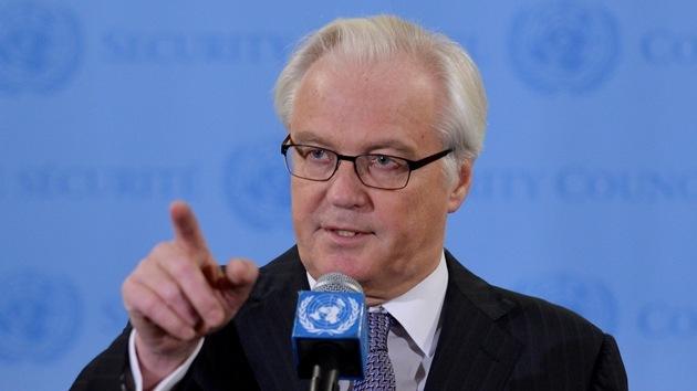El embajador ruso ante la ONU contesta a los insultos de una periodista de CNN