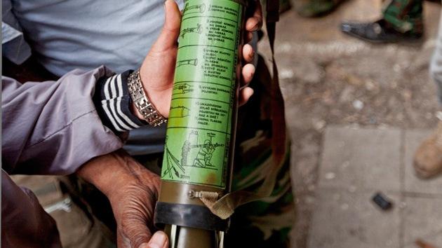 Rebeldes sirios reciben lanzagranadas antitanque de fabricación checa