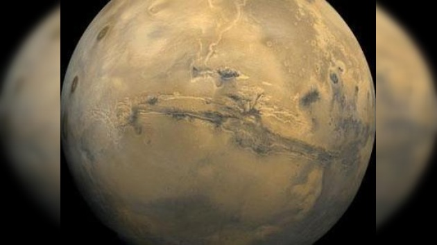 Capas de agua líquida en Marte engendrarían mares y ríos