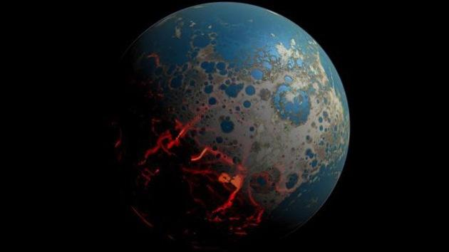 Video: Impactos de asteroides 'maltrataron' la superficie de la Tierra