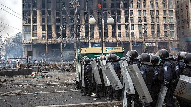 """Unidad Omega de la Policía ucraniana: """"Nos mostraron como un escuadrón de la muerte"""""""