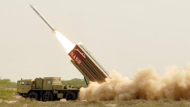 Pakistán ensayó un misil portador de cabeza nuclear