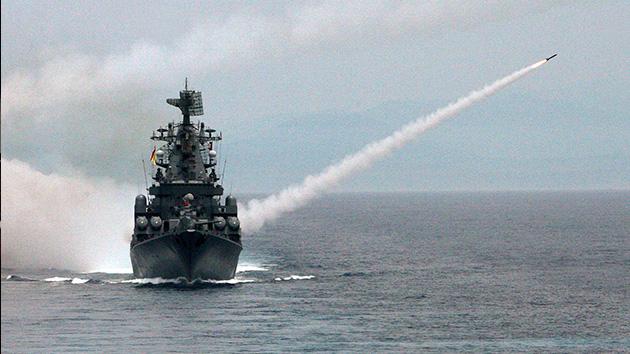 La Marina rusa emprende sus mayores maniobras desde el desplome de la URSS