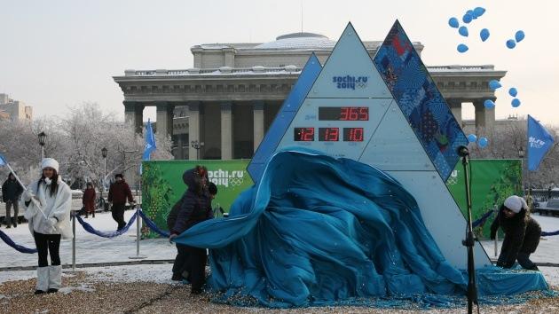 Cuenta regresiva para los Juegos Olímpicos de Sochi 2014