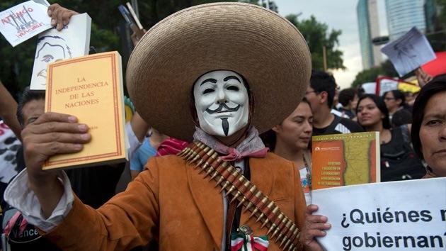 Anonymous amenaza con filtrar miles de datos de militares mexicanos