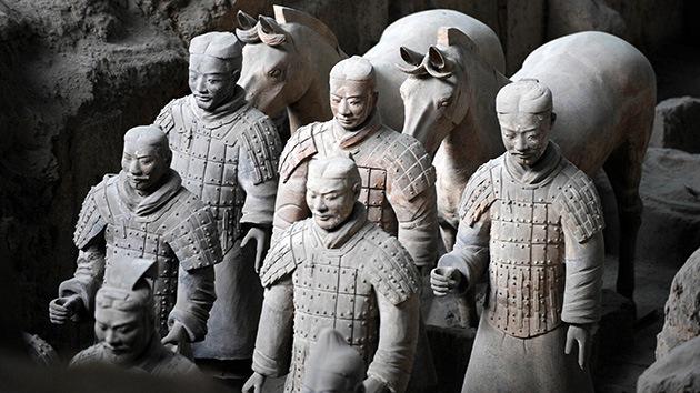 El secreto de la pintura de los Guerreros de terracota, al descubierto 2.200 años después