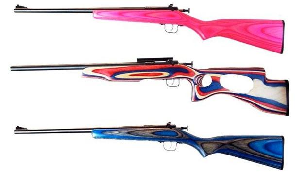 Rifles de colores para niños, un regalo 'de lo más mortal' en EE.UU.