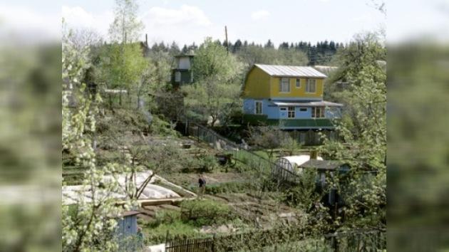 Se inicia la temporada de las dachas en Rusia