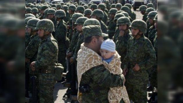 La vida regresa a una ciudad mexicana…con tropas