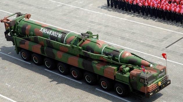 Corea del Norte despliega tres cinturones de misiles balísticos