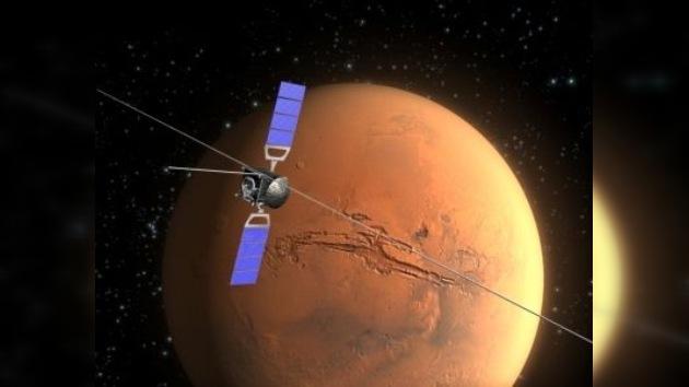 Una sonda europea fotografía las huellas de la historia natural de Marte