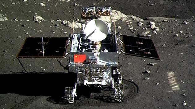 El robot explorador chino se pierde en la Luna
