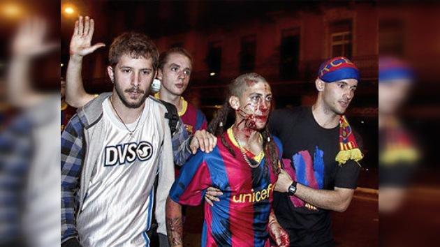 Los disturbios por la victoria del FC Barcelona acaban con 84 detenidos