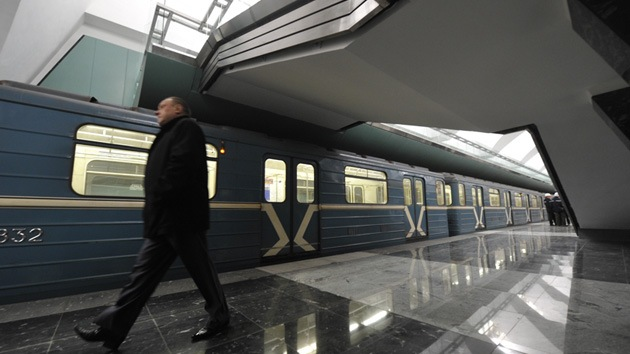 Internautas causan pánico tras informar de una explosión en el metro de Moscú