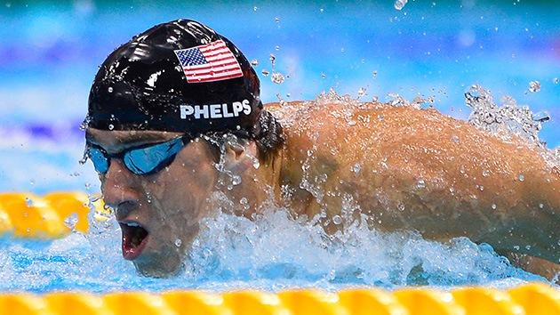 El secreto de Phelps está en la masa: pizza, pasta y sándwiches para 'devorar' records