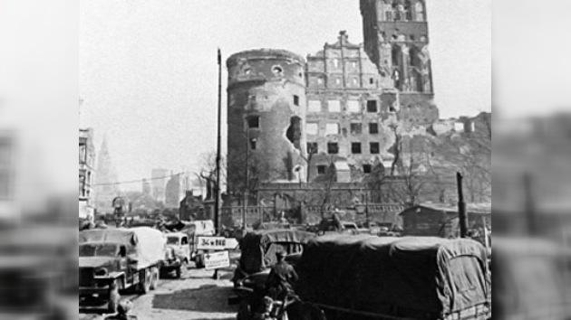 Crónica del triunfante asalto de Königsberg hace 65 años
