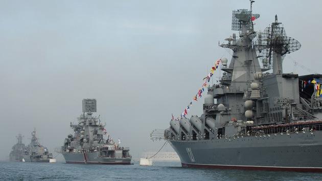 Buques de guerra rusos partirán al Atlántico y visitarán varios puertos latinoamericanos