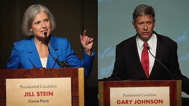 RT acogerá el último debate de los otros candidatos a la Presidencia de EE.UU.