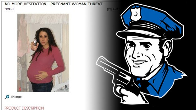 """Blancos de tiro con embarazadas, """"programa para insensibilizar a policías en EE.UU."""""""