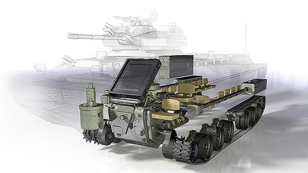 DARPA premia el diseño de un innovador tanque anfibio hecho en 14 semanas
