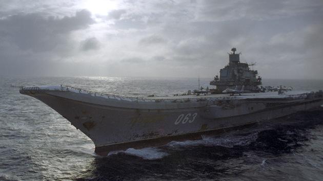 Rusia enviará a su portaaviones al Mediterráneo a finales de este año
