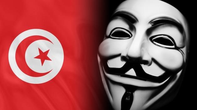 Anonymous al ataque contra páginas oficiales de Túnez