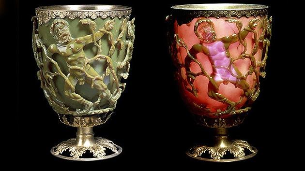 Recrean la nanotecnología del cristal que cambiaba de color en la Antigua Roma