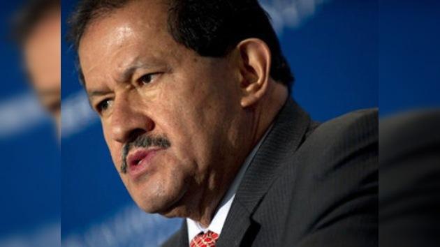 El vicepresidente colombiano trata de impulsar la firma del TLC con EE. UU.