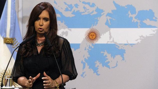 Presidenta de Argentina no asistirá a Londres 2012