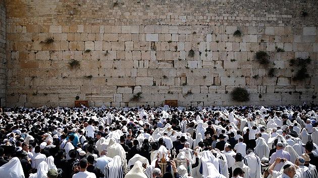 Hallan un cincel de 2.000 años que sirvió para construir el Muro de las Lamentaciones