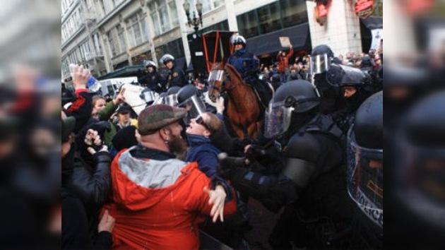 La violencia policial no logra disuadir al movimiento 'Ocupa Portland'