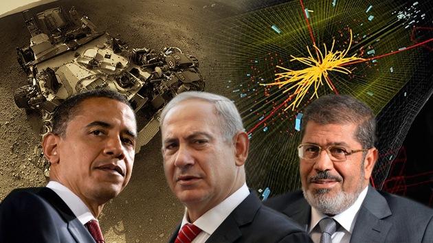 Obama y Morsi compiten con el bosón de Higgs y Curiosity por ser la 'Persona del año'