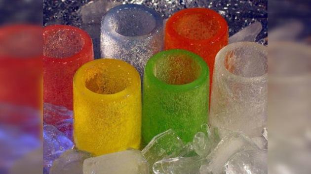 Copas de hielo, ideales para romper después de un brindis