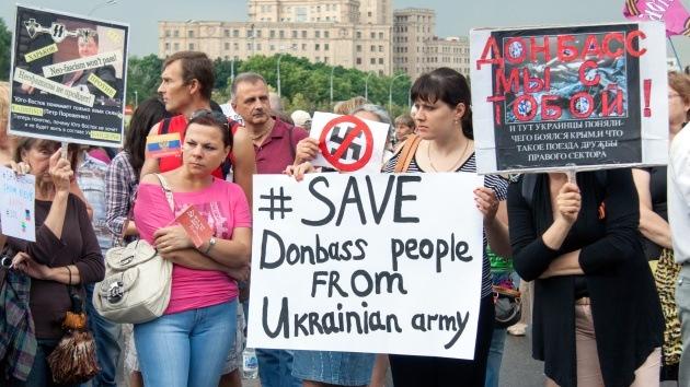 """Experto: """"Lo que hace el Ejército en el este de Ucrania es una limpieza étnica"""""""