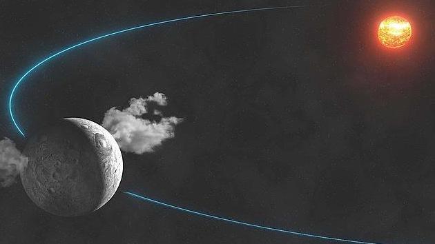 Descubren agua en un planeta enano del sistema solar