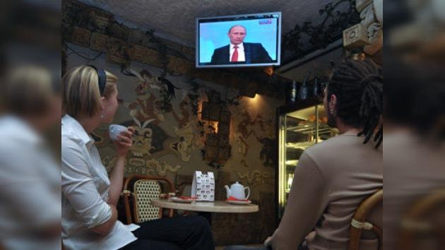 Vladímir Putin hablará en directo con la población por décima vez