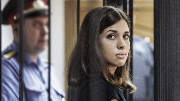 Firman la liberación de Tolokónnikova, la última integrante de Pussy Riot en prisión