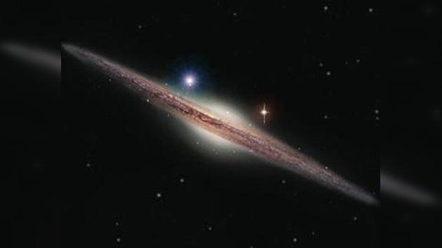 El agujero negro que sobrevivió la destrucción de una galaxia