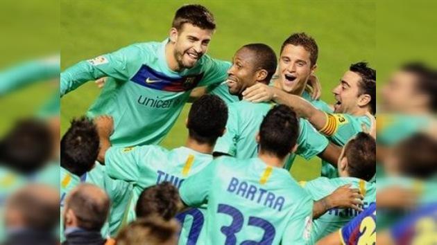 El Barça, campeón de la Liga española por tercer año consecutivo