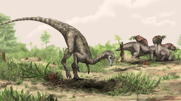 El dinosaurio más antiguo 'anidaba' en los estantes del museo de ciencias de Londres